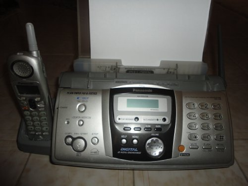 Panasonic-KX-FPG379-FaxCopier-Machine-with-Cordless-TelephoneAttached-to-base-0