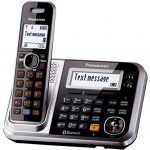 Panasonic-KX-TG7875S-Link2Cell-Bluetooth-Cordless-Phone-with-Enhanced-Noise-Reduction-Digital-Answering-Machine-5-Handsets-BlackSilver-0-1