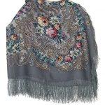Pavlovoposadskiy-Platok-Womens-Russian-Wool-Shawl-With-Silk-Fringes-0-1