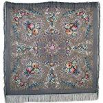 Pavlovoposadskiy-Platok-Womens-Russian-Wool-Shawl-With-Silk-Fringes-0