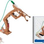Pitsco-Laser-Cut-Basswood-T-Bot-II-Hydraulic-Arm-with-Teachers-Guide-Individual-Pack-0