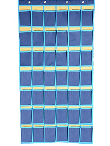 Pocket-Charts-for-Classroom-Graphing-Calculator-Storage-Cell-Phone-Holder-54-Pockets-Hanging-Pockets-with-Hooks-Classroom-Storage-Organizer-0