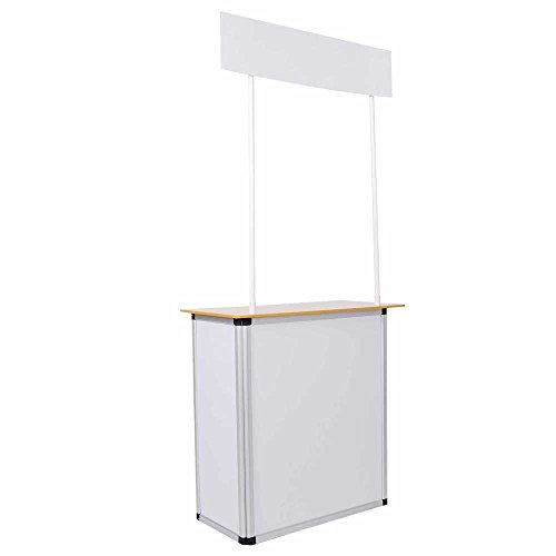 Popup-Promotion-Counter-Table-Booth-Aluminum-Frame-Demo-Display-Kiosk-Trade-Show-0-0