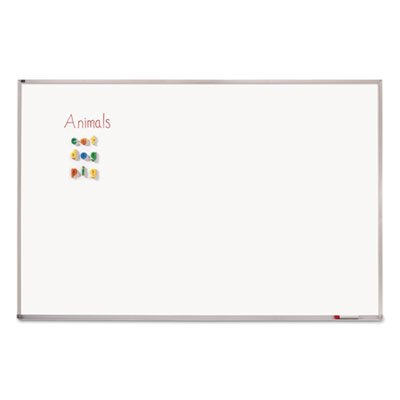 Porcelain-Magnetic-Whiteboard-72-x-48-Aluminum-Frame-Sold-as-1-Each-0-0