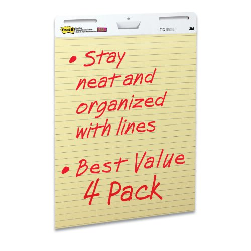 Post-it-Easel-Pad-25-x-30-Inches-Yellow-Paper-with-Lines-30-SheetsPad-0-0