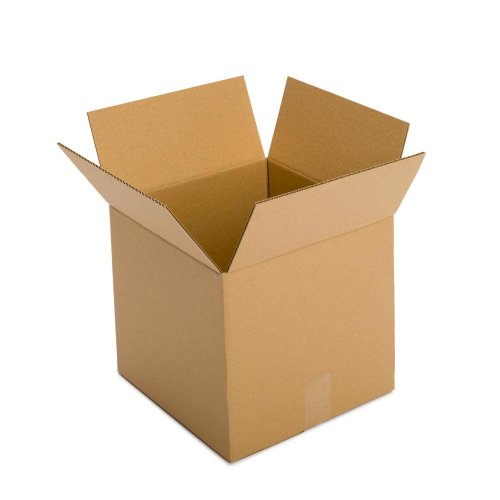 Pratt-PRA0081-Recycled-Corrugated-Cardboard-Single-Wall-Standard-Cube-Box-with-C-Flute-14-Length-x-14-Width-x-14-Height-Pack-of-25-0