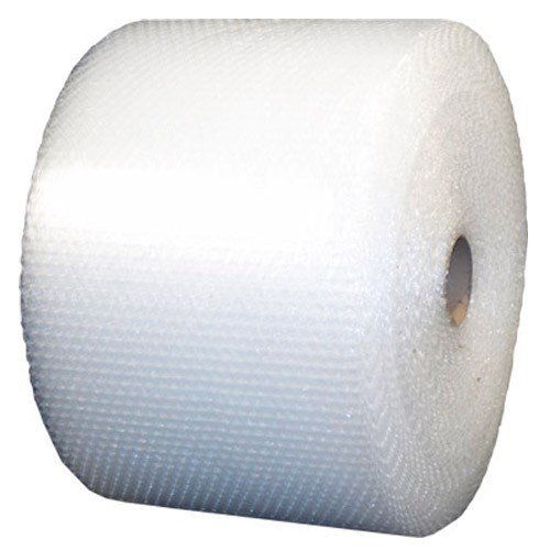 Pratt-Polyethylene-Perforated-UPSable-Single-Air-Bubble-Roll-RDBM48S24P12-188-Length-x-24-Width-516-Thick-Clear-0