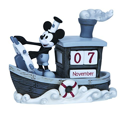Precious-Moments-Disney-Showcase-Collection-Mickey-Mouse-Perpetual-Calendar-Resin-Figurine-144707-0