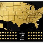 Premium-Scratch-Off-US-Map-60-x-40-cm-Places-Ive-Been-USA-Travel-Map-Great-Scratchable-US-Map-Gift-For-Any-Traveler-Made-From-Durable-Flexible-Plastic-to-Last-Longer-by-1DEAme-0