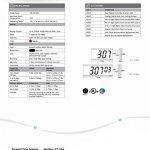 Pyramid-4-character-4-Digit-Red-LED-RF-Wireless-Digital-Clock-110V-9D44BR-0-1