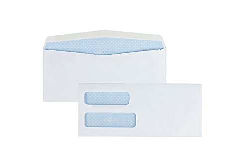 Quality-Park-10-Double-Window-Envelopes-Self-Sealing-Redi-Seal-500-Envelopes-24559-0-1