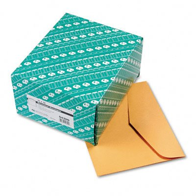 Quality-Park-54300-Open-Side-Booklet-Envelope-Traditional-12-x-10-Light-Brown-100box-0