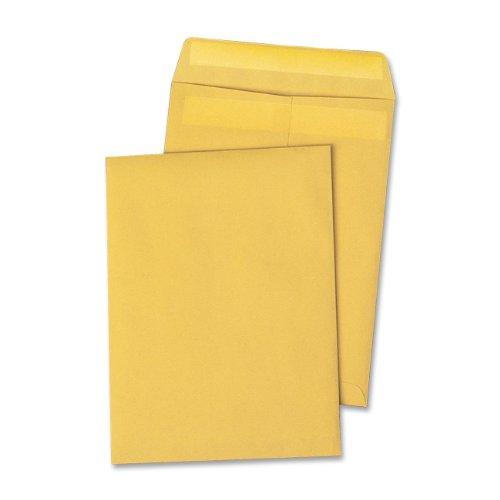 Quality-Park-Large-FormatCatalog-Envelopes-Brown-Kraft-Redi-Seal-10-x-13-inches-Box-of-250-QUA43762-0