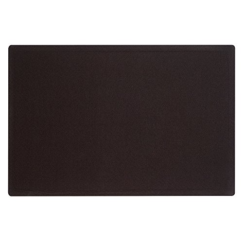 Quartet-Bulletin-Board-4-x-3-Feet-Frameless-Fabric-Office-Bulletin-Boards-Black-7684BK-0