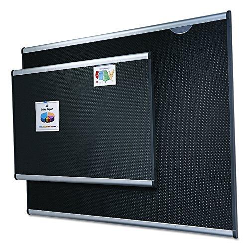 Quartet-Bulletin-Board-Embossed-Foam-Prestige-47-x-35-Inches-Aluminum-Frame-B344A-0-0