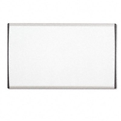 Quartet-Cubicle-Arc-Frame-Magnetic-Dry-Erase-Board-30-x-18-Inches-Aluminum-Frame-ARC3018-0
