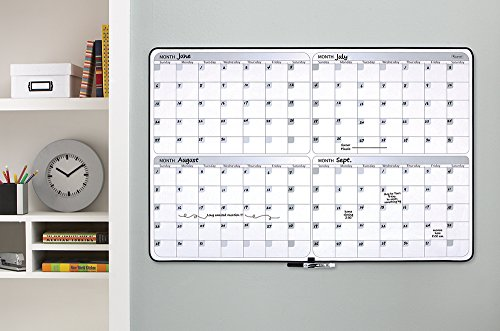 Quartet-Dry-Erase-Board-4-Month-Planner-23-x-35-Inches-Black-Frame-05149SV-0-0