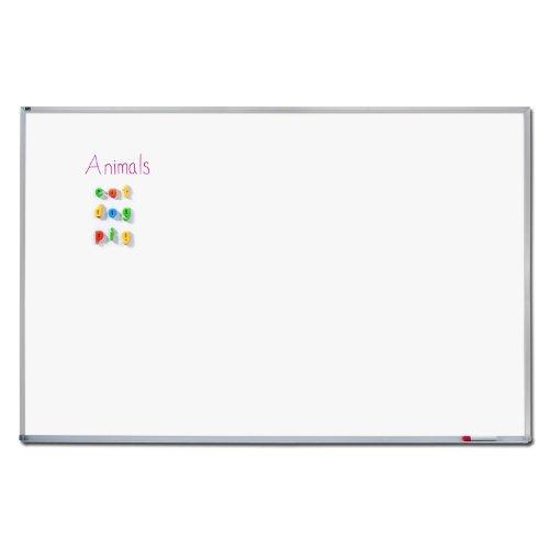 Quartet-Dry-Erase-Board-Porcelain-Magnetic-Whiteboard-4-x-8-Feet-Aluminum-Frame-PPA408-0-0