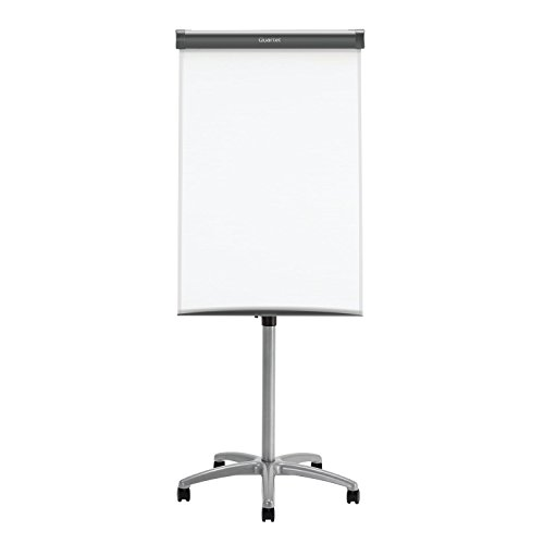 Quartet-Easel-Magnetic-WhiteboardFlipchart-3-x-2-Compass-Mobile-Presentation-Graphite-Frame-ECM32EU-0