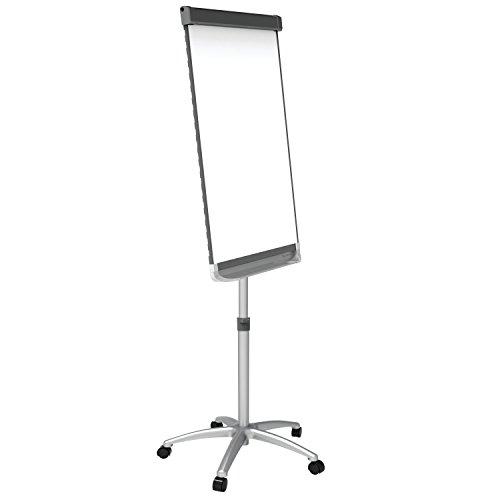 Quartet-Easel-Magnetic-WhiteboardFlipchart-3-x-2-Prestige-2-Mobile-Presentation-Graphite-ECM32P2-0-0