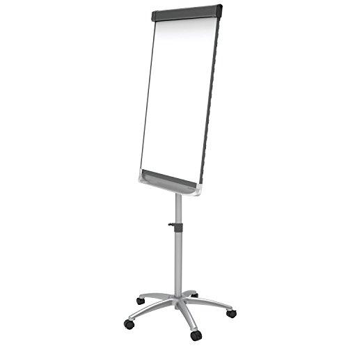 Quartet-Easel-Magnetic-WhiteboardFlipchart-3-x-2-Prestige-2-Mobile-Presentation-Graphite-ECM32P2-0-1