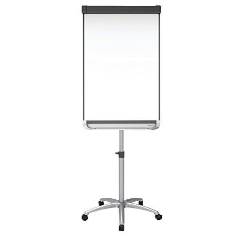 Quartet-Easel-Magnetic-WhiteboardFlipchart-3-x-2-Prestige-2-Mobile-Presentation-Graphite-ECM32P2-0