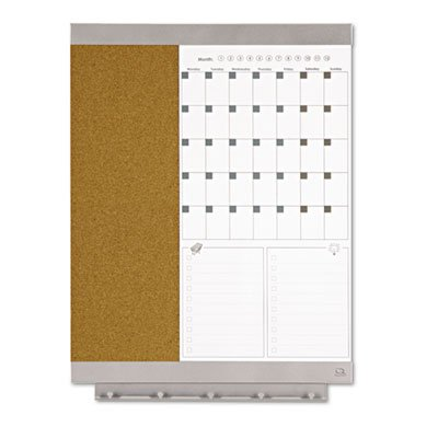 Quartet-Envi-Cubicle-1-Month-Calendar-and-Bulletin-Board-17-x-23-Inches-79239-0