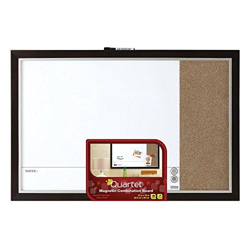 Quartet-Home-Decor-Magnetic-Combination-Board-23-x-35-Dry-Erase-Cork-Two-Tone-Frame-48117A-0-0