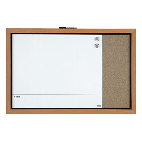 Quartet-Home-Decor-Magnetic-Combination-Board-23-x-35-Dry-Erase-Cork-Two-Tone-Frame-48117A-0-1