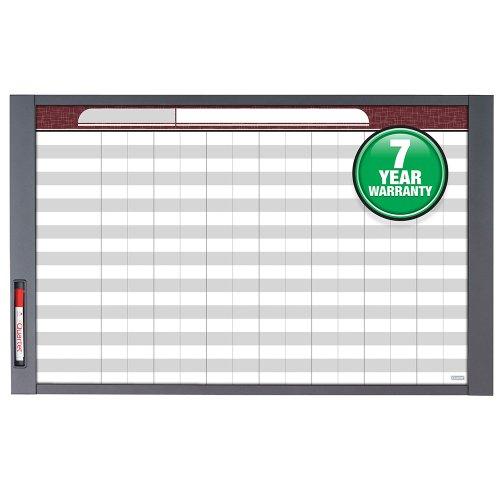 Quartet-Inview-Custom-Whiteboard-375-x-23-Inches-5-Inch-Graphite-Frame-72982-0-0