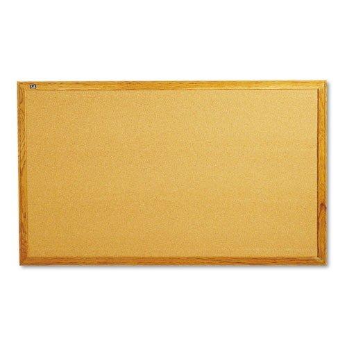 Quartet-Oak-Finish-Frame-Cork-Bulletin-Board-0
