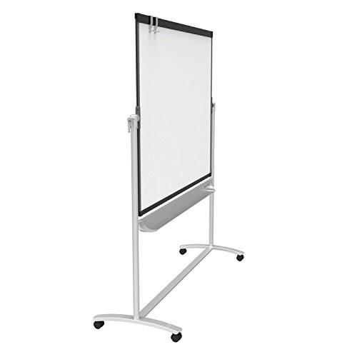 Quartet-Presentation-Easel-6-x-4-Mobile-Reversible-Magnetic-Whiteboard-Flipchart-Prestige-2-Mobile-Graphite-Frame-ECM64P2-0-1