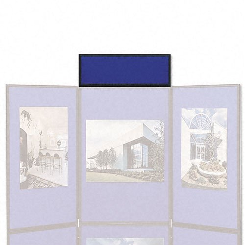Quartet-Show-It-Exhibition-Display-System-Header-Panel-2-Feet-by-10-Inches-Blue-and-Gray-SB93501Q-0-0