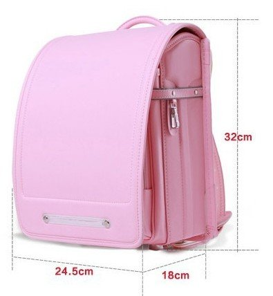 Ransel-Randoseru-backpack-satchel-bag-A4-Clear-file-fits-Japanese-school-bag-with-rain-cover-Japan-Imported-0-1