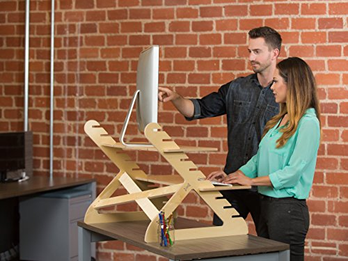 Readydesk-2-Standing-Desk-Converts-any-desk-into-an-adjustable-standing-desk-Burns-more-calories-improves-focus-and-relieves-back-pain-Designed-and-built-in-USA-0-0