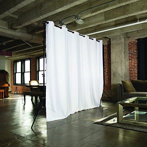 RoomDividersNow-Freestanding-Adjustable-Room-Divider-Stand-7ft-12ft-6in-Wide-0-0