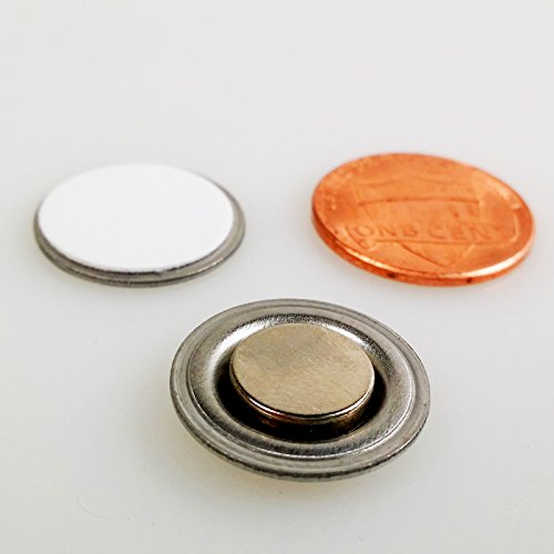 Round-Magnet-with-Adhesive-for-Buttons-Name-Tags-Lapel-Pins-LOT-OF-100-RM01-100-0-0