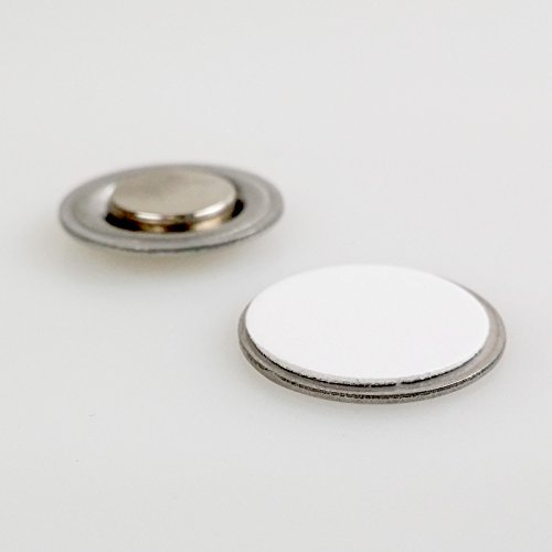 Round-Magnet-with-Adhesive-for-Buttons-Name-Tags-Lapel-Pins-LOT-OF-100-RM01-100-0-1