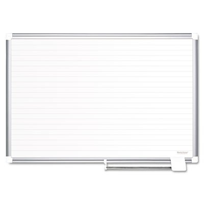Ruled-Planning-Board-48×36-WhiteSilver-Sold-as-1-Each-0