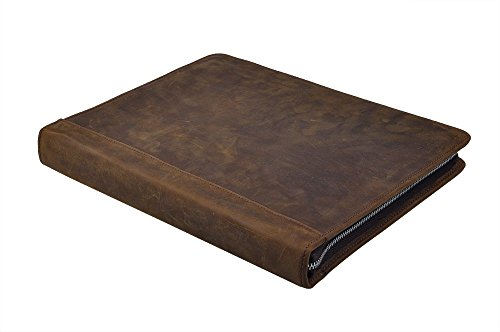 Rustic-Leather-Padfolio-with-3-Ring-Binder-for-Letter-A4-Paper-11-inch-MacBook-Air-0