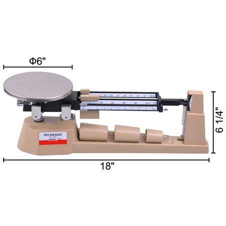 SAGA-2610gx01g-Triple-Beam-Balance-Precision-Gram-Weight-Scale-Jewelry-0-1