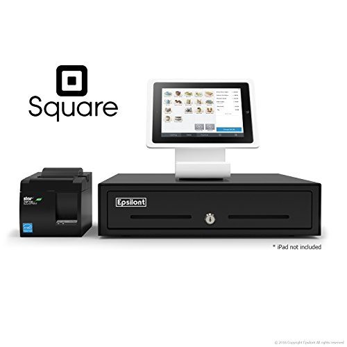 SQUARE-POS-BUNDLE-Stand-iPad-Air-A-SKU-0020-Star-Micronics-TSP143IIU-39464011-USB-Printer-and-Epsilont-Cash-Drawer-0