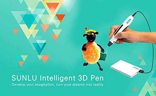SUNLU-Professional-3D-Printing-Pen-3-Dimensional-Model-Making-Stimulate-Childrens-Imagination-and-Practical-Ability-White-0-1