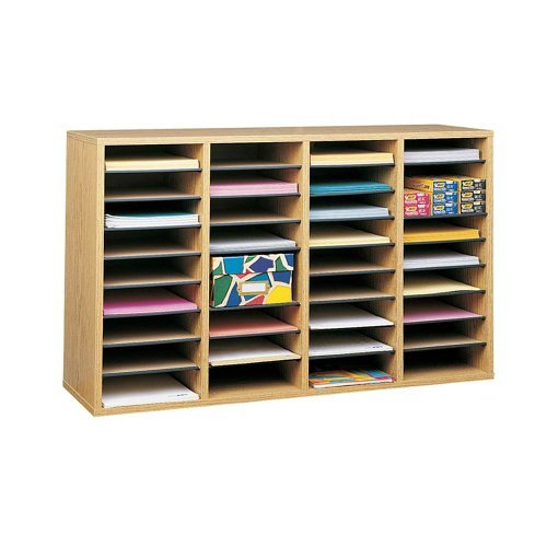 Safco-Products-Wood-Adjustable-Literature-Organizer-0