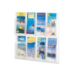 Safco-Reveal-Clear-Literature-Displays-0