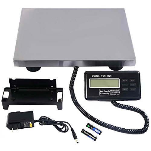 Safstar-Postal-Scale-Heavy-Duty-Digital-Industry-Shipping-Pets-Scale-with-Extendable-Cord-and-LCD-Display-440-lbs-Capacity-Floor-Bench-Platform-Scale-3-Unit-KGLBOZ-0-0