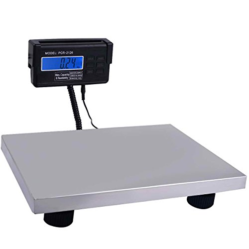 Safstar-Postal-Scale-Heavy-Duty-Digital-Industry-Shipping-Pets-Scale-with-Extendable-Cord-and-LCD-Display-440-lbs-Capacity-Floor-Bench-Platform-Scale-3-Unit-KGLBOZ-0
