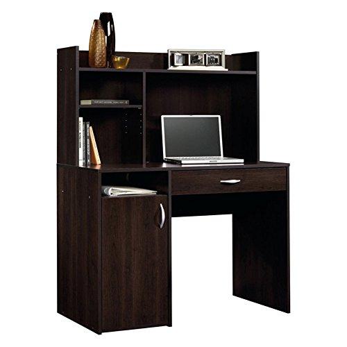 Sauder-Beginnings-Desk-with-Hutch-Cinnamon-Cherry-0