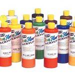 Sax-True-Flow-Acrylic-Paint-Pint-Set-of-12-Assorted-Colors-0