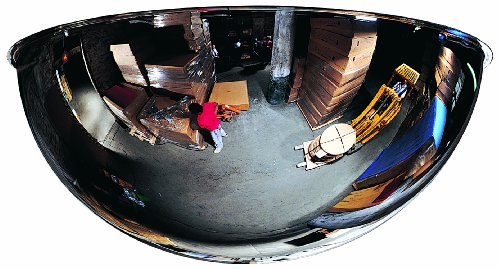 See-All-Panaramic-Full-Dome-Plexiglas-Security-Mirror-360-Degree-Viewing-Angle-0